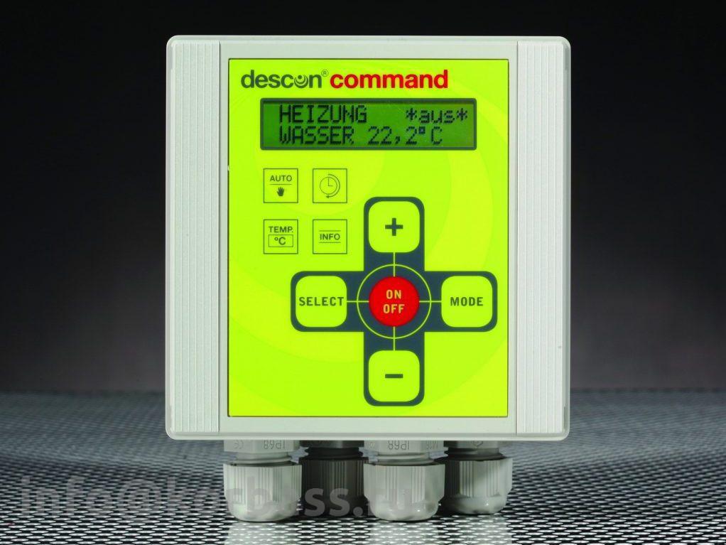 """Автомат обратной промывки и фильтрации descon® backwash plus, для 6-ходовых клапанов 1 ½"""" и 2"""""""