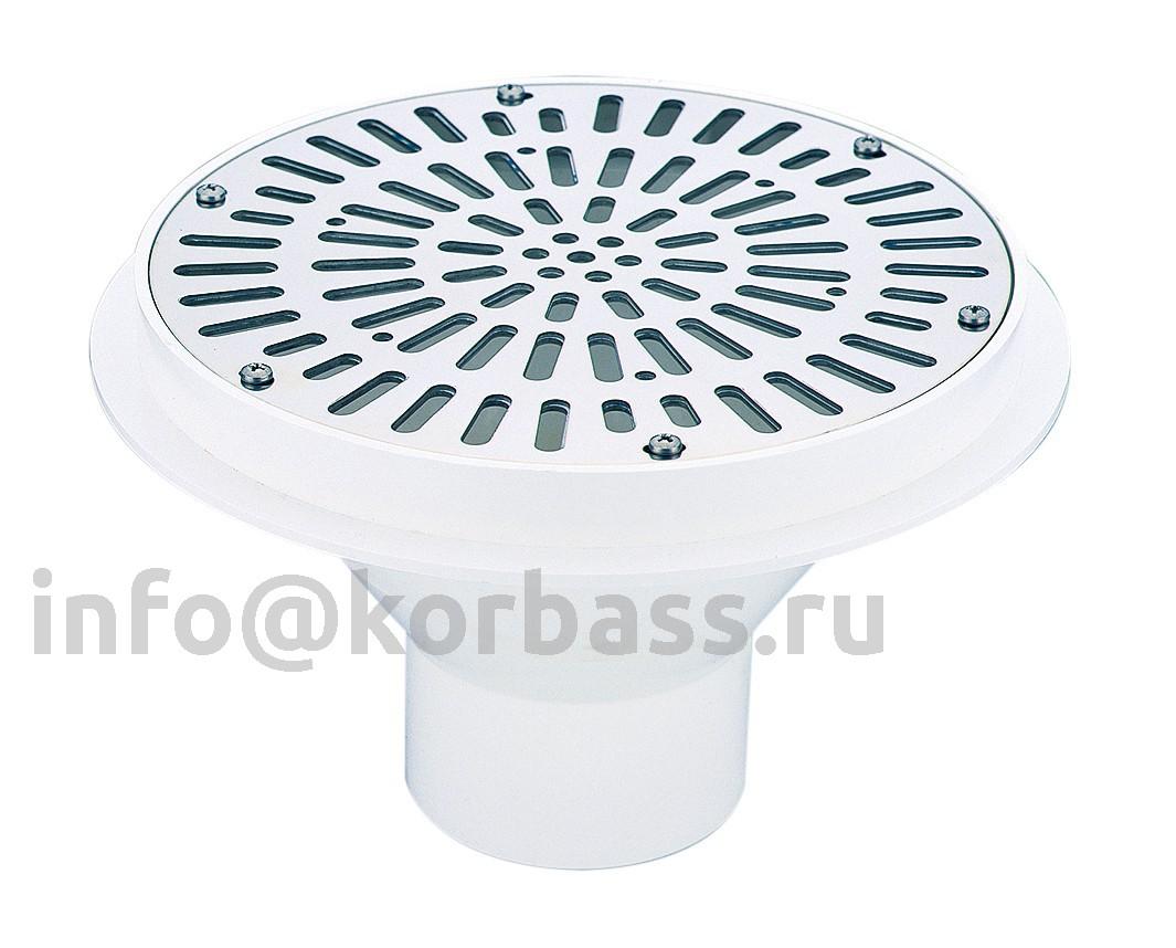 Водозабор IML из ABS-пластика для бетонного бассейна