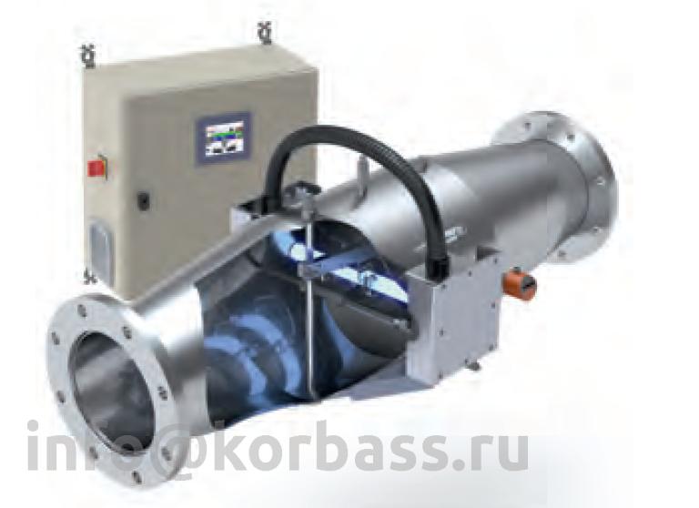Ультрафиолетовая установка серии MP 15-30 м3/ч модель MP 030 EL 600W