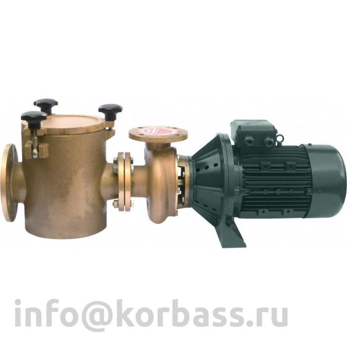 Центробежный чугунный и бронзовый насос FDN-17 76,5 м3/ч